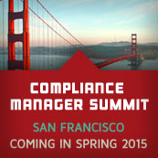 Compliance Manager Summit 2015