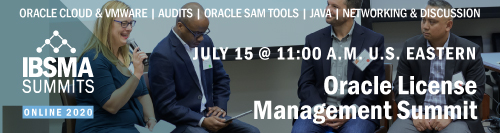 Oracle License Management Summit