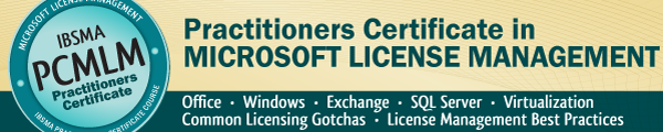 PCMLM Microsoft License Management