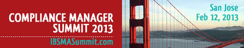 Compliance Manager Summit 2013