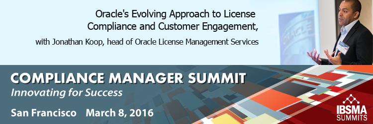 CM Summit Oracle Session